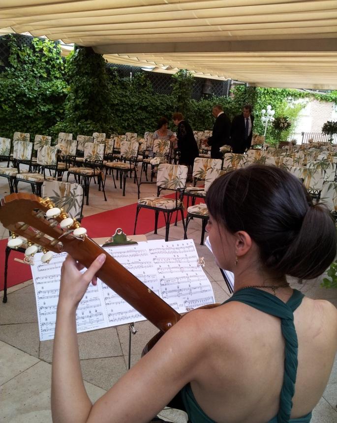Música para ceremonias civiles en Toledo