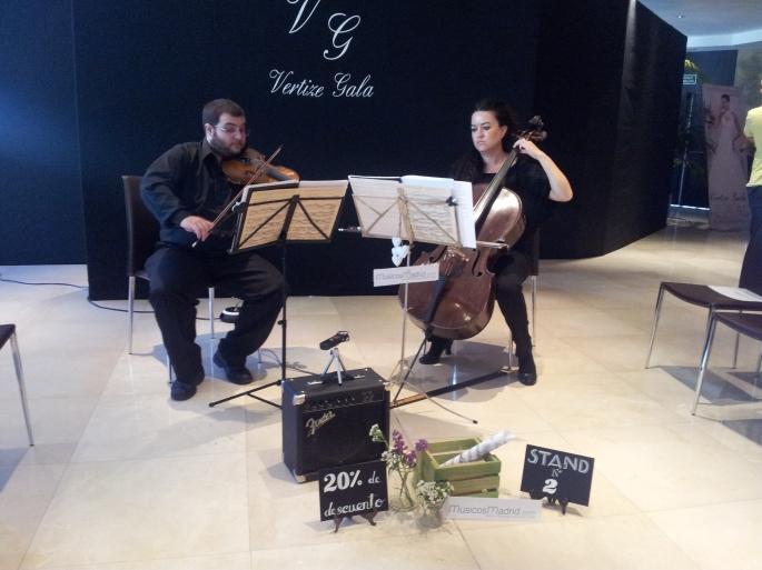 Dúo violín y violonchelo para eventos