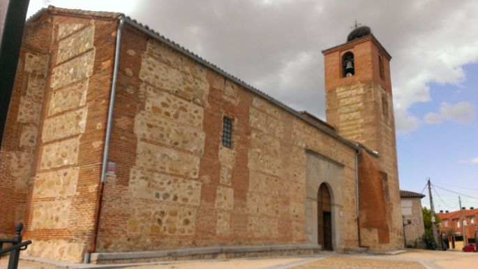 La iglesia en Villamanta