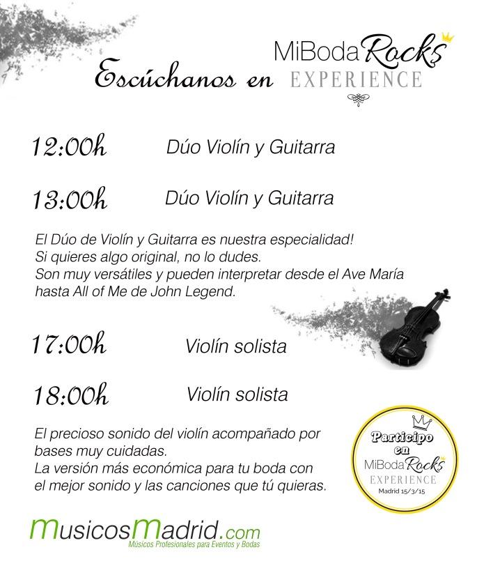 Músicos para bodas en madrid